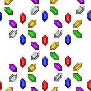 Rupee Rainbow Flowerburst