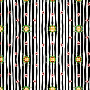 Baby Zen black and white stripe