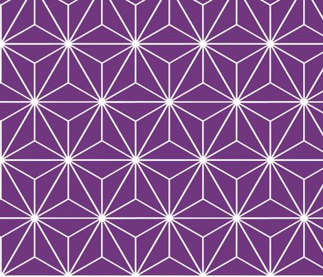 Stars purple fabric by arwen1860 on Spoonflower - custom fabric