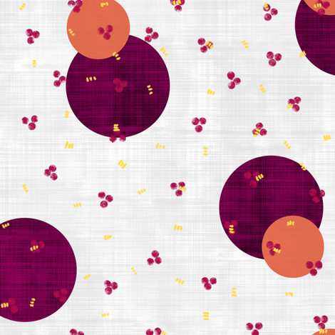 !Give me some honey! fabric by un_temps_de_coton on Spoonflower - custom fabric