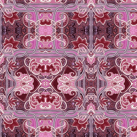 Between the Ribbons fabric by edsel2084 on Spoonflower - custom fabric