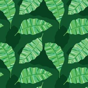 Retro Geometric Palm