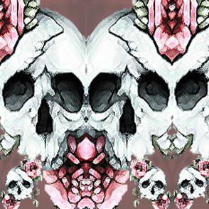Dusk Rose Skull