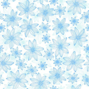 lifework flowers - blue and mint
