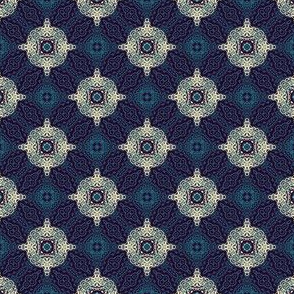 Arabic night, ornamental pattern