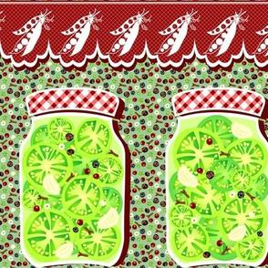 Grandma's pickles'n'peas