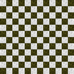 Green-White-wavy-Checkered-Tile