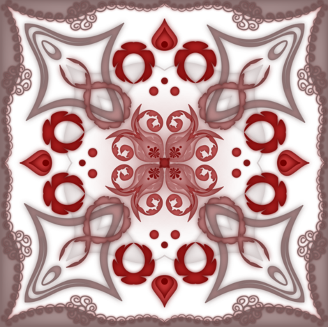 Kalidascope-3 fabric by lilithdeanu on Spoonflower - custom fabric