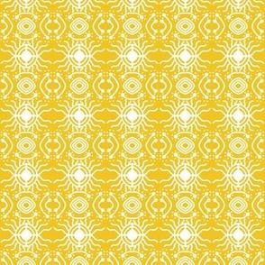 Bright Sun Star Gold White