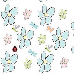 Flower show buggles - Large blue-crop