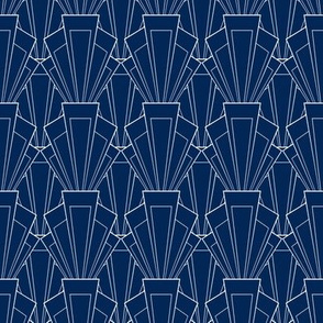 Navy and White deco