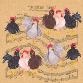 Dancing Chickens!