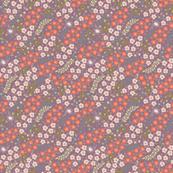 Mini Flowers in Purple