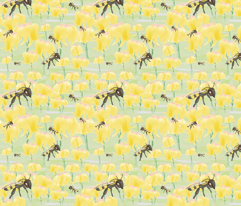 Beely_Duty fabric by chovy on Spoonflower - custom fabric