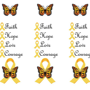 Faith Hope Love Courage I