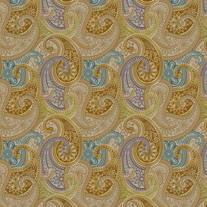Paisley-Damask-RepeatingGold-2B