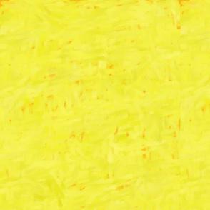 Sunshine Yellow Baby Zen Buddha