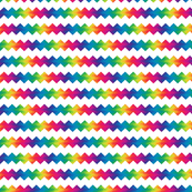 small rainbow ric-rac on white