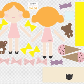 Chloe - Doll Fabric