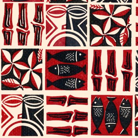 Modern Tapa 1c fabric by muhlenkott on Spoonflower - custom fabric