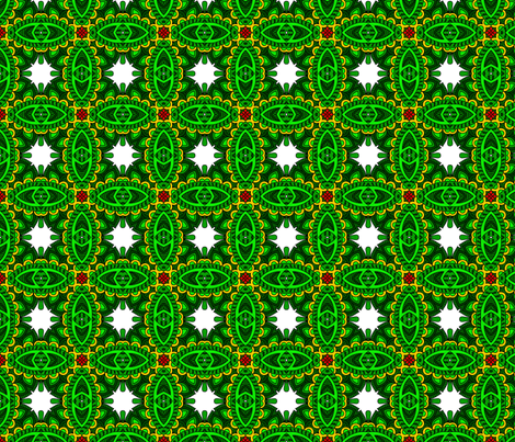 Wycinanka_Paisley_026 fabric by stradling_designs on Spoonflower - custom fabric