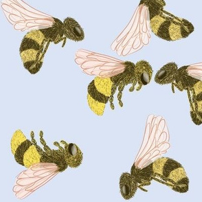 Fuzzy Bees