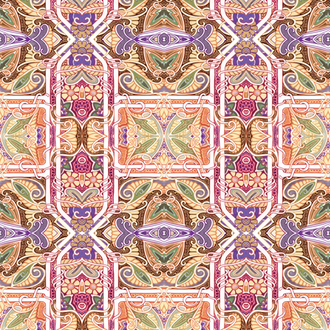 When We Visited the Czar fabric by edsel2084 on Spoonflower - custom fabric