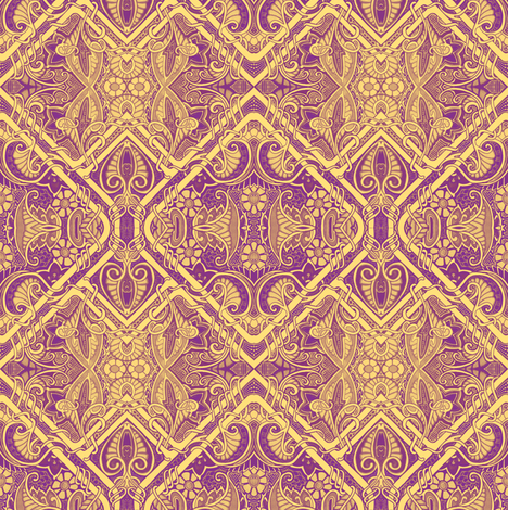 Golden Years fabric by edsel2084 on Spoonflower - custom fabric