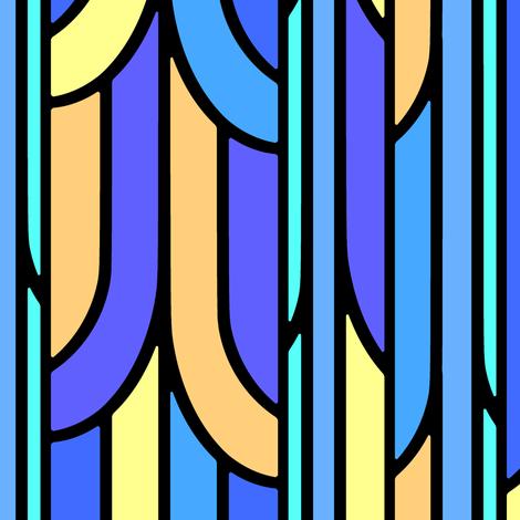 Geometric 1 fabric by jadegordon on Spoonflower - custom fabric