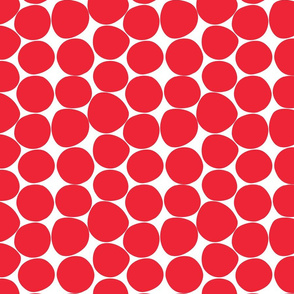 strange dots red