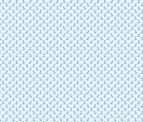 Anchors Away Sky fabric by littlerhodydesign on Spoonflower - custom fabric