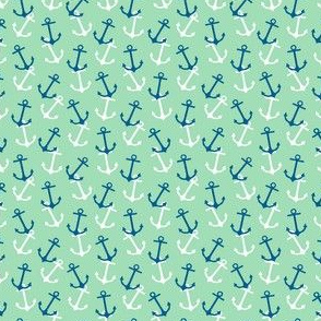 Anchors Away Teal