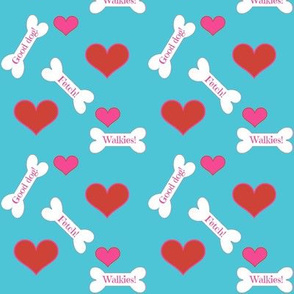 dog bones/ hearts