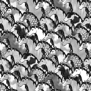 Horde of Patterned Horses