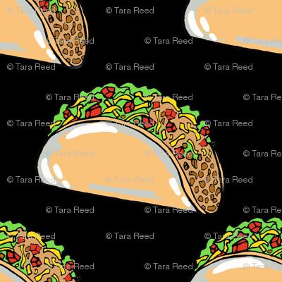 Tiny Tacos on Black
