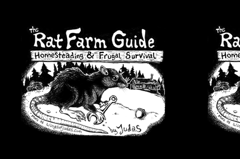 Rat Farm Guide - Large Patch fabric by wingsofjudas on Spoonflower - custom fabric