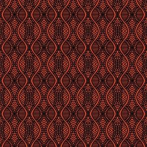 Serpentine Prayers Orange Brown
