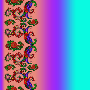 wycinanka_peacock_border_print_flat_011