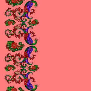 wycinanka_peacock_border_print_flat_010