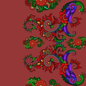 wycinanka_peacock_border_print_flat_003