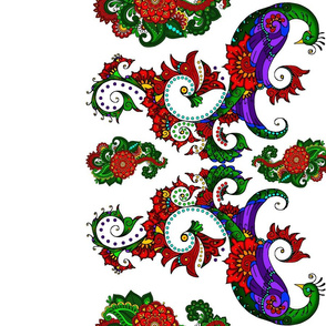 wycinanka_peacock_border_print_flat_001