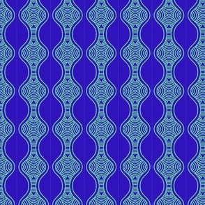 Blue Ripples Hourglass 3