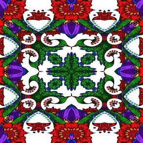 wycinanka_peacock_seamless_print_flat_002