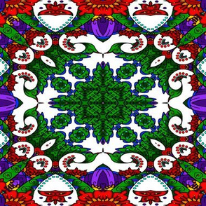 wycinanka_peacock_seamless_print_flat_003