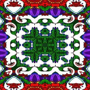 wycinanka_peacock_seamless_print_flat_004