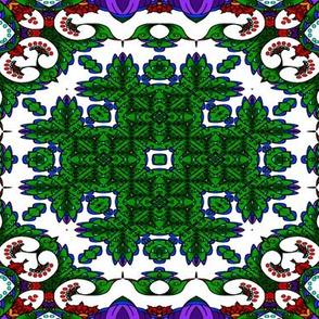 wycinanka_peacock_seamless_print_flat_005
