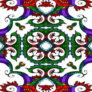 wycinanka_peacock_seamless_print_flat_006