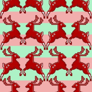 Pixel Deer Stripe