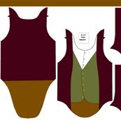 Bilbo/Hobbit Newborn Onesie Bodysuit