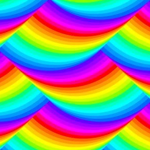 04184325 : slippery slope : rainbow